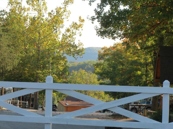 Branson KOA : View from our campsite