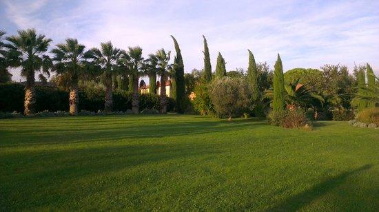 Domaine des Clos: superbes jardins