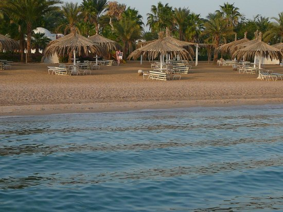 Nuweiba Coral Resort: пляж