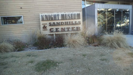 Knight Museum and Sandhills Center: entrance