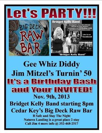 Big Deck Raw Bar: My 50th Birthday