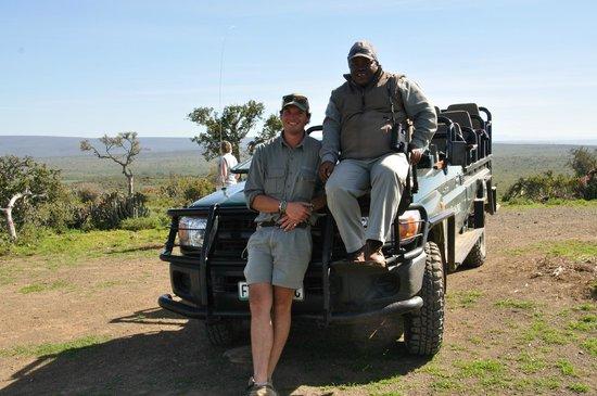 Kwandwe Great Fish River Lodge: Ben and Ernie