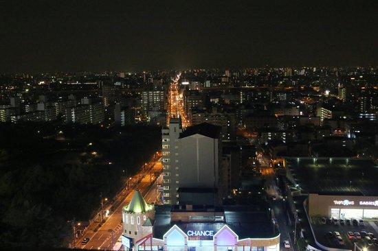 BEST WESTERN Joytel Osaka: Ночной вид из номера