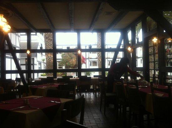 Hotel Europa Hof : Inside the Dinning Restaurant