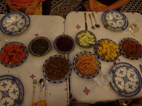 Dar Fes Medina: Dinner