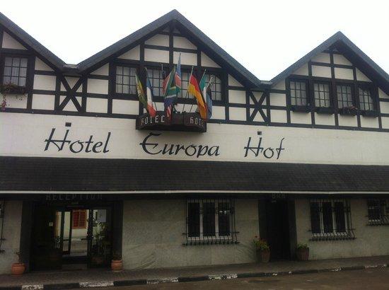 Hotel Europa Hof : Hotel View