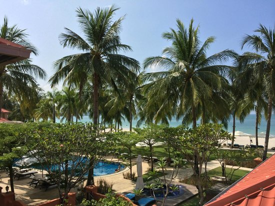 Casa del Mar, Langkawi: View from 1st floor balcony
