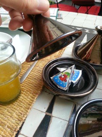 Riad la Parenthese : Breakfast cheese!