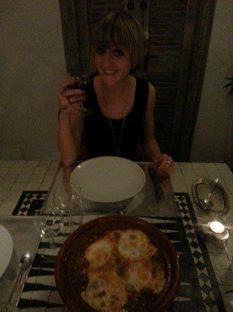 Riad la Parenthese : Best meal of the week! Kefta Tagine