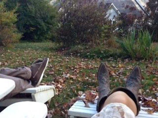 Stone Hill Inn: relaxing