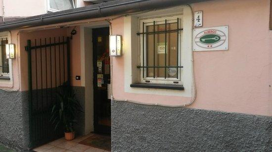 Hotel San Desiderio : San Desiderio - Entrance