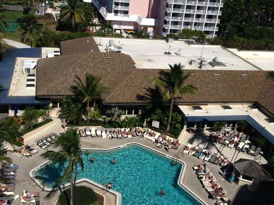 Hilton Marco Island Beach Resort: Pool View From Room