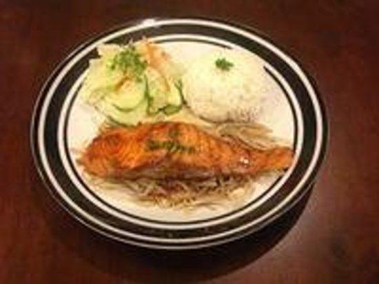 Dain Korea: Salmon Teriyaki