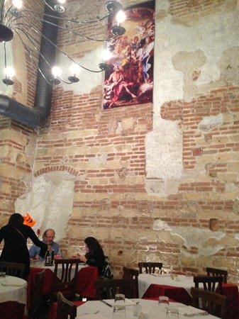 Santa Felicita: inside the restaurant