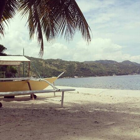 Granada Beach Resort: Del av privata stranden.