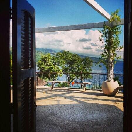 Granada Beach Resort: utsikt från rummet på morgonen.