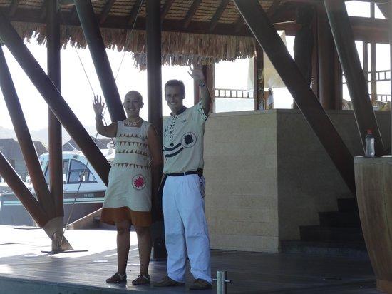 Four Seasons Resort Bora-Bora : Mr. Borja y compañía