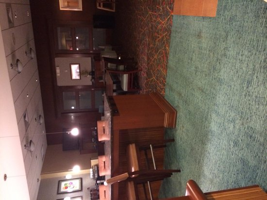 Residence Inn Tampa Suncoast Parkway at NorthPointe Village : View from sitting area in lobby