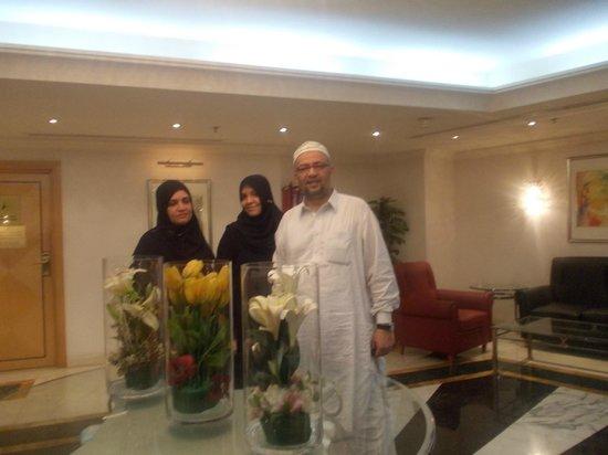 Makkah Hilton Towers: lobby