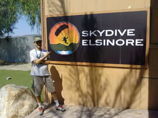 Skydive Elsinore: Estive la