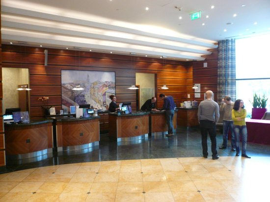 Radisson Blu Centrum Hotel Warszawa: RECEPCION
