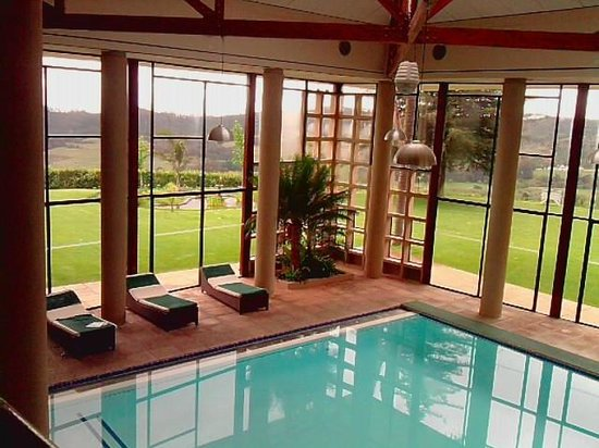 The Hydro at Stellenbosch: Indoor pool