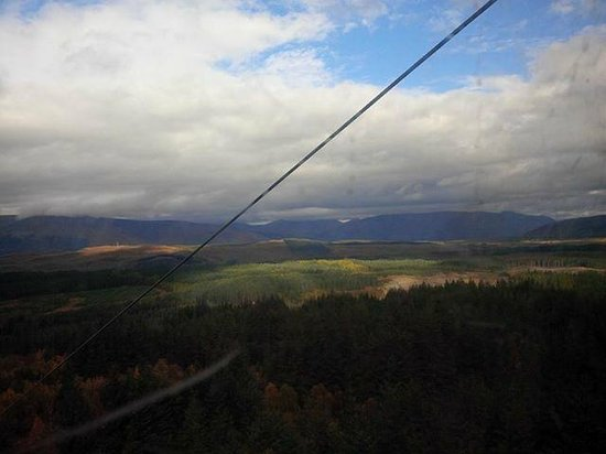Nevis Range Mountain Experience: More from the Gondola on Aonach Mor late October