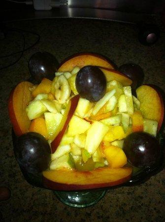 chez yassine : salade de fruits!