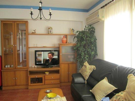 Apartamentos Mediterraneo : salottino