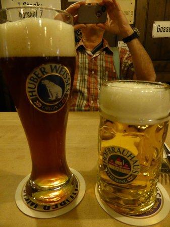 Weissbrau Huber : dark and light beers