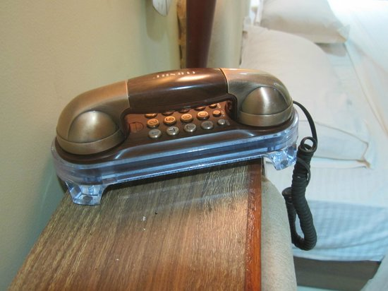 The Byke Heritage - Matheran : The cute phone. And it works!