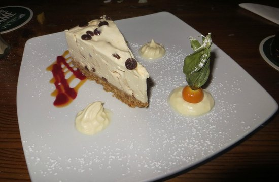 Matt The Millers Bar & Restaurant: Cheesecake al Baileys e gocce di cioccolato
