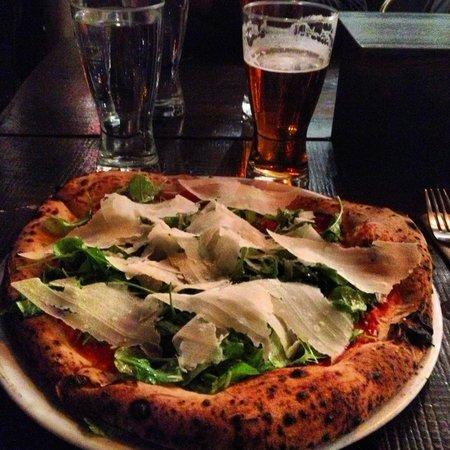 Pizzicletta : Pizza alla rucola