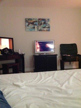 Splendid Inn Port Edward: kamer is redelijk, niet gezellig