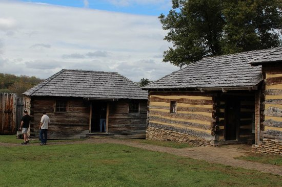 Fort Ligonier: authentic reconstructed buildings--officers quarters?