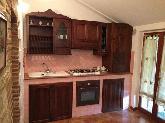 Casale Mariandre: Cucina