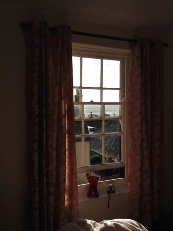 Cadgwith Cove Inn: view from the room (7)