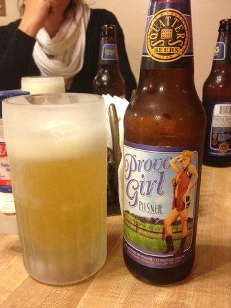 Duke's SlickRock Grill: Birra locale Provo Girl