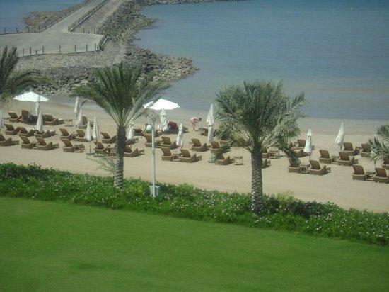 Djibouti Palace Kempinski: View from the room Splendid beach
