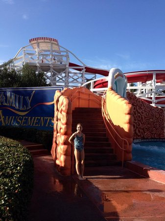 Disney's BoardWalk Inn : pool slide