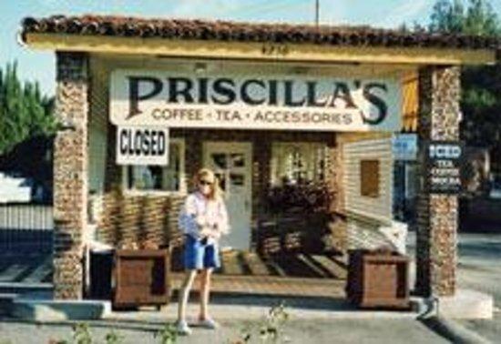 Priscilla's Coffee Tea & Gifts: the Original location circa 1992