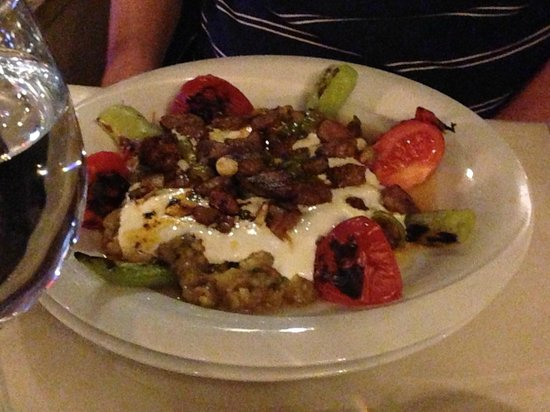 Ehlikeyf: Entree recommended by our waiter