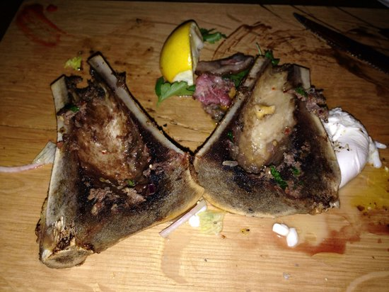 The Culinary Workshop: Bone marrow dish