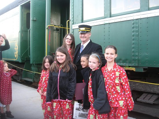 French Lick Scenic Railway: Our Conductor