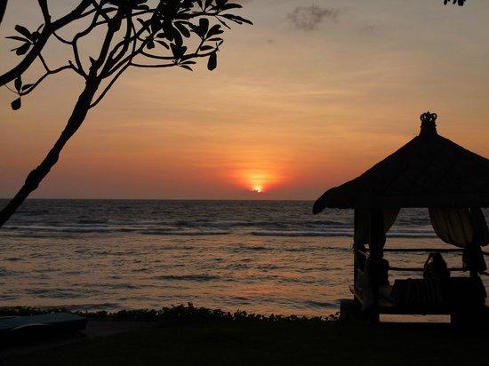 Jeeva Klui Resort: coucher de soleil