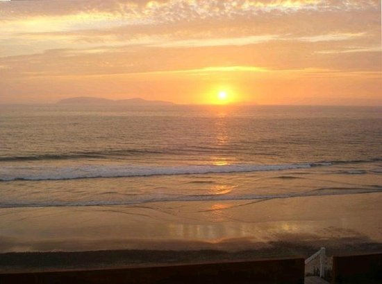 Rosarito Beach: Sunset over the Coronado Islands--view from anywhere in San Antonio del Mar
