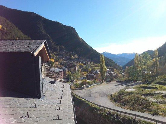 Apartamentos Sant Moritz: Vistas habitación
