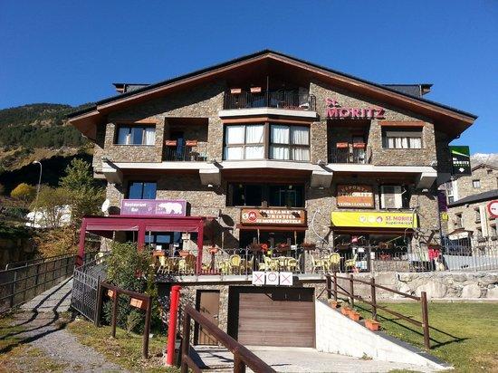 Apartamentos Sant Moritz: Fachada edificio