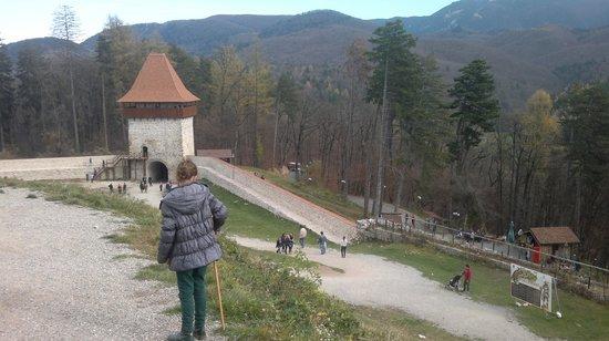 Rasnov, رومانيا: Inside citadel 3