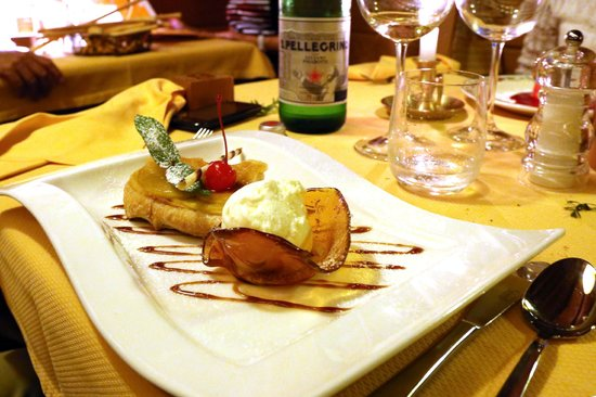 Hotel Notre Maison : uno dei fantastici dessert
